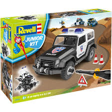 @ Offroad Police Vehicle à monter - Revell 4+