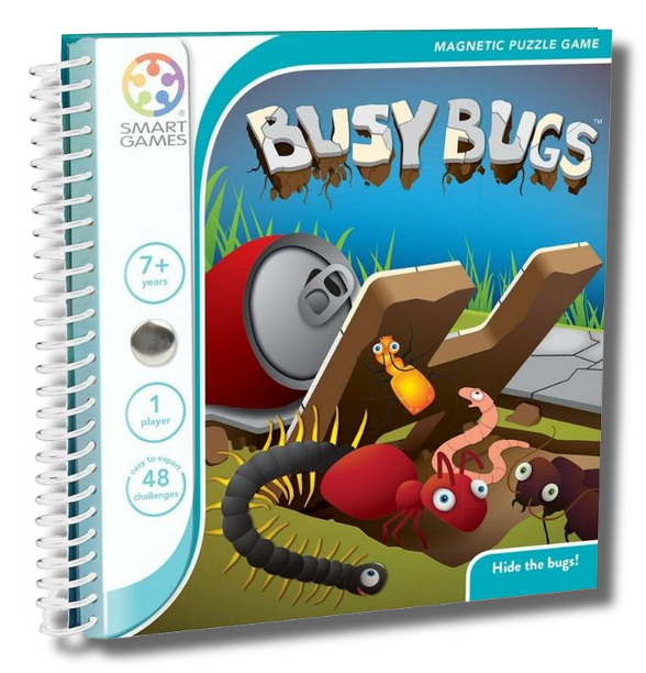 Jeu autonome - Travel Magnetic Busy Bugs