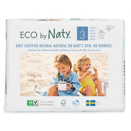 Naty Couches 3 | 4-9kg, 50 pcs