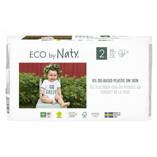 Naty Couches,  2 | 3-6kg, 33pcs