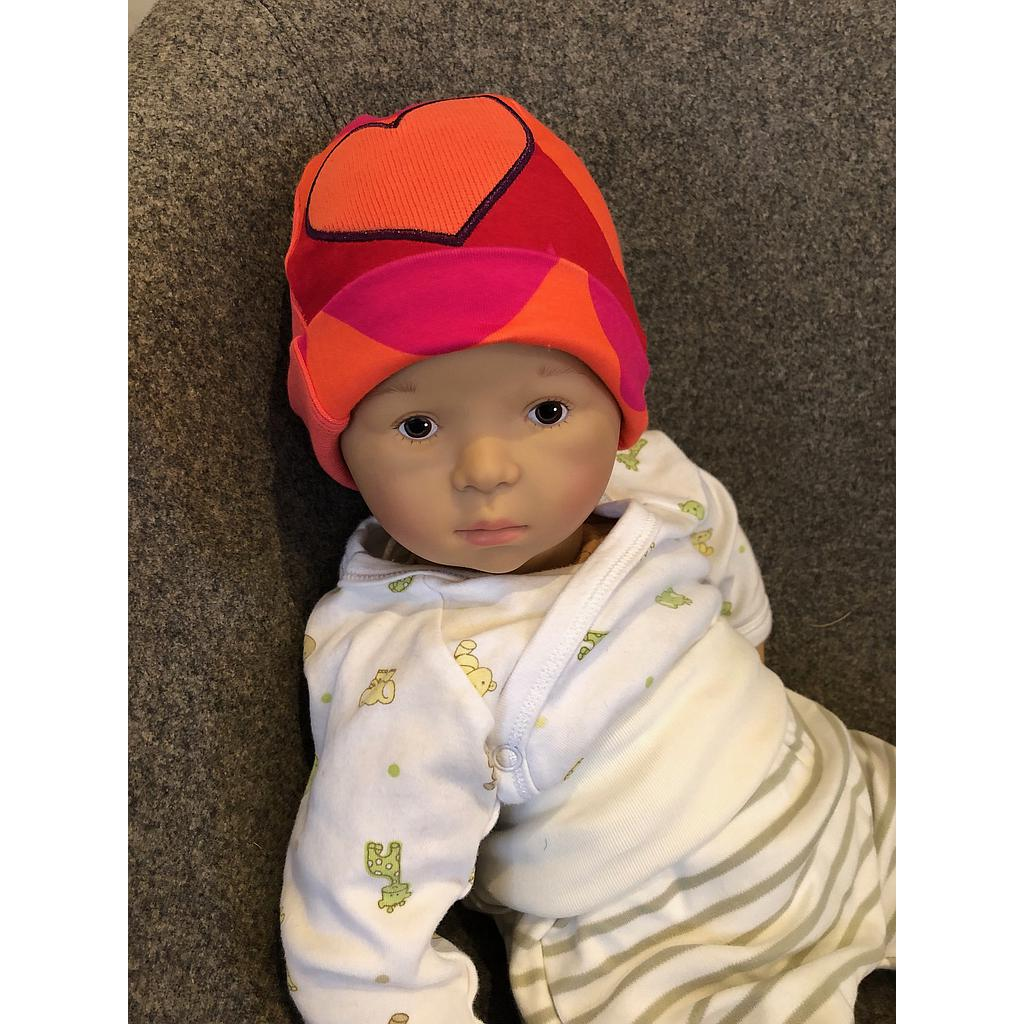 Manymonths Bonnet Eco Beanie - Big Heart