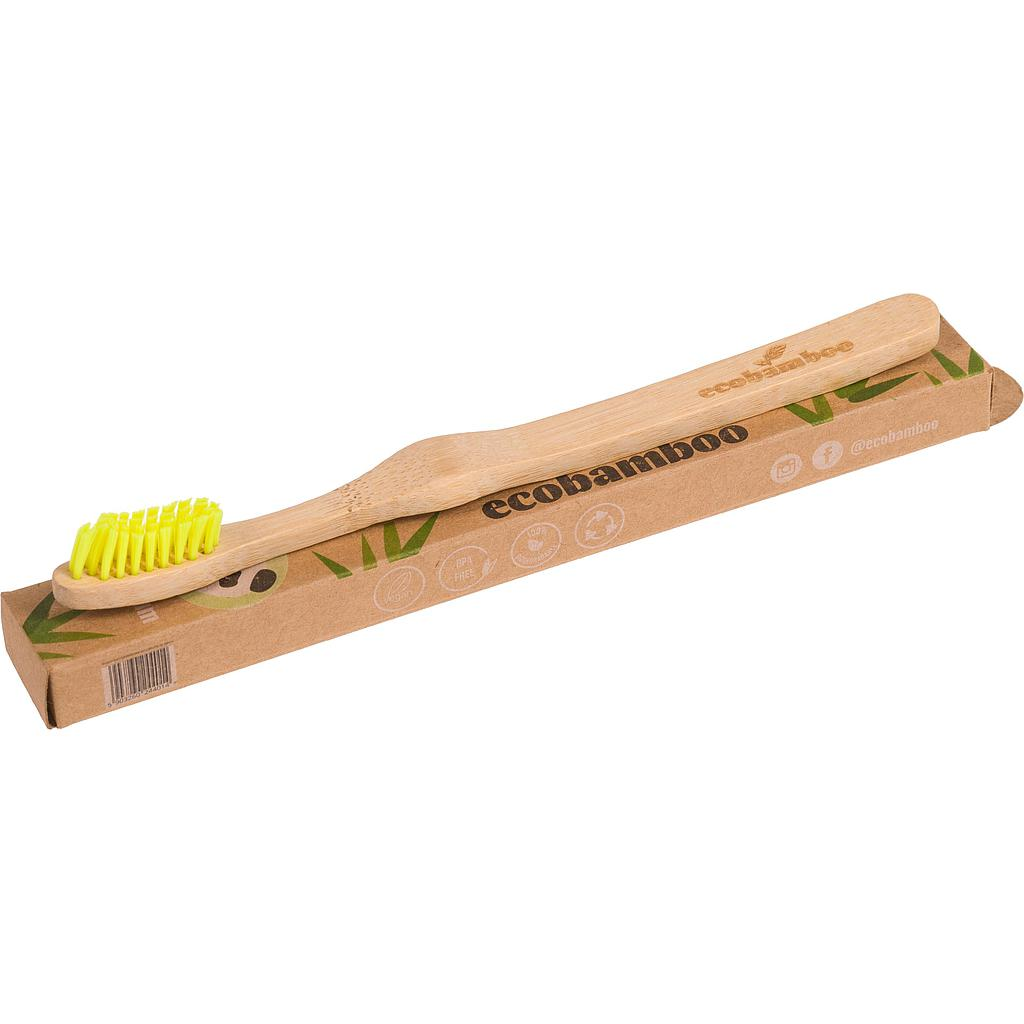 Brosse à dents durable en bamboo - Extra Souple - Ecobamboo