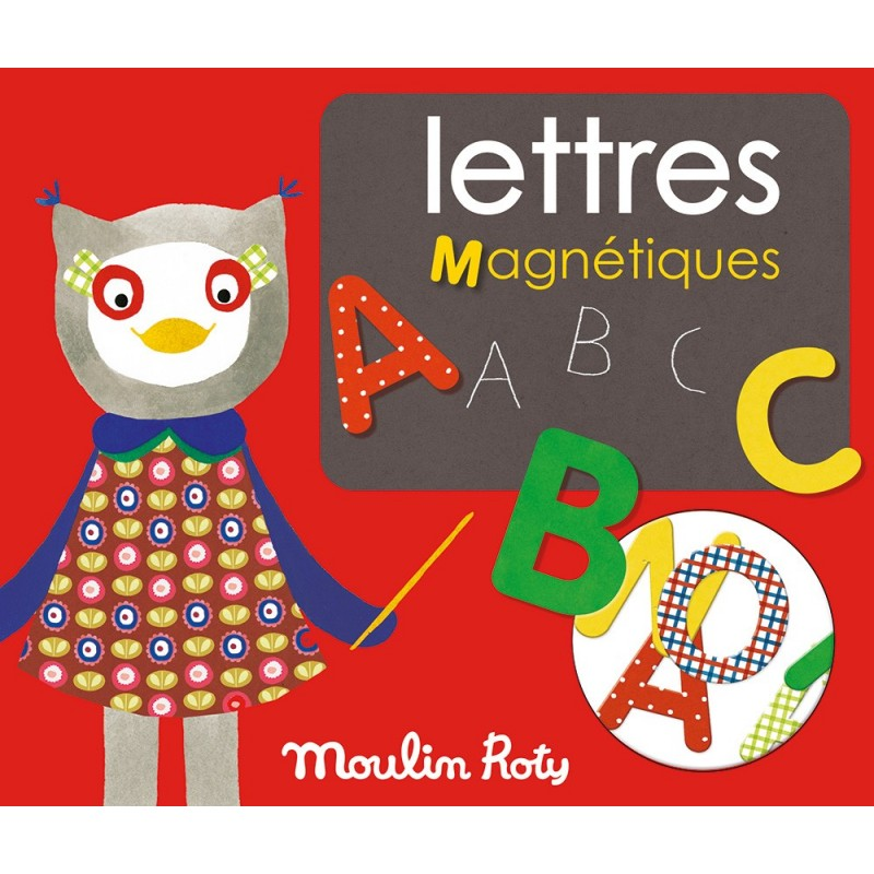 Lettres Magnétiques - Moulin Roty