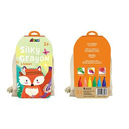 Silky Crayon fox 6 colours