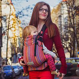 Baby carrier avec boucle Lilly