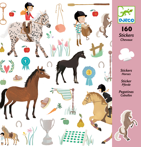 Stickers Chevaux